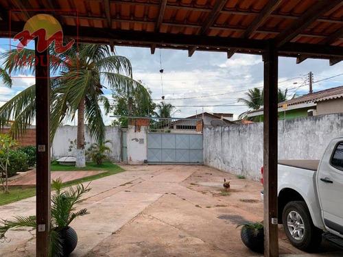 casa residencial à venda, infraero ii, macapá. - ca0452