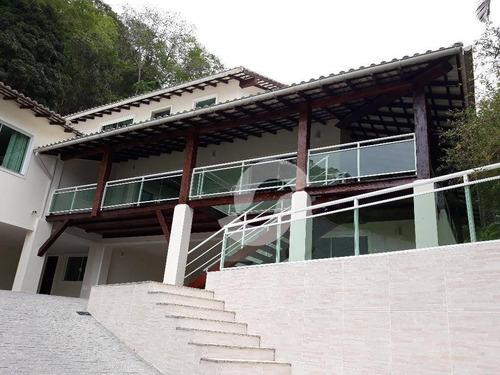 casa residencial à venda, itaipu, niterói. - ca0432