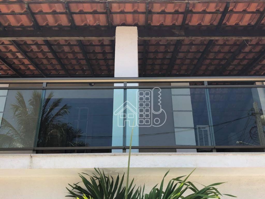 casa residencial à venda, itaipu, niterói. - ca0551