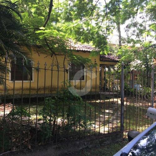 casa residencial à venda, itaipu, niterói. - ca0698