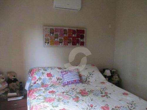 casa residencial à venda, itaipu, niterói. - ca0861