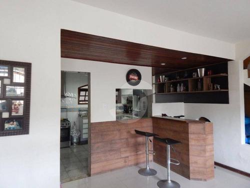 casa residencial à venda, itaipu, niterói. - ca0967