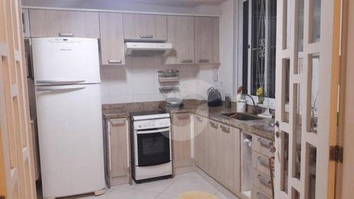 casa residencial à venda, itaipu, niterói. - ca1008