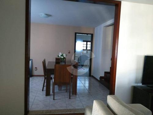 casa residencial à venda, itaipu, niterói. - ca1254