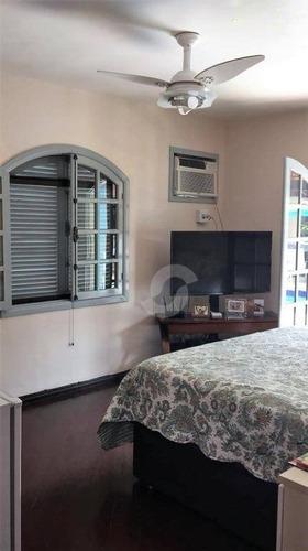 casa residencial à venda, itaipu, niterói. - ca1491
