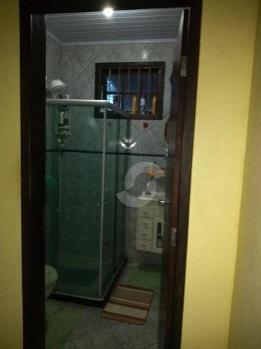 casa residencial à venda, itaipuaçu, maricá. - ca1132