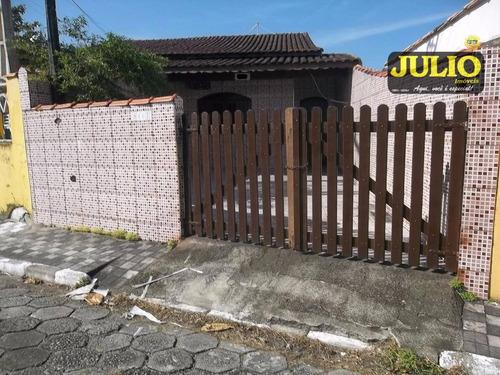 casa residencial à venda, itaóca, mongaguá. - ca2850