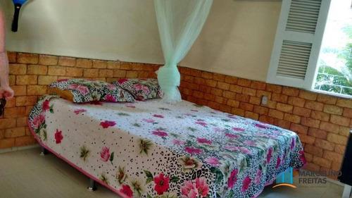 casa residencial à venda, jacundá, eusébio - ca1132. - ca1132