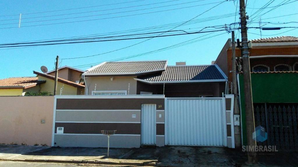 casa residencial à venda, jardim anton von zuben, campinas. - ca0250