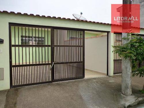 casa residencial à venda, jardim belas artes, itanhaém - ca0317. - ca0317