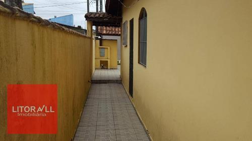 casa residencial à venda, jardim belas artes, itanhaém. - ca1171