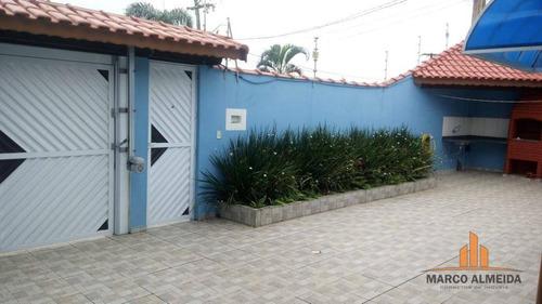 casa residencial à venda, jardim bopiranga, itanhaém. - ca0198