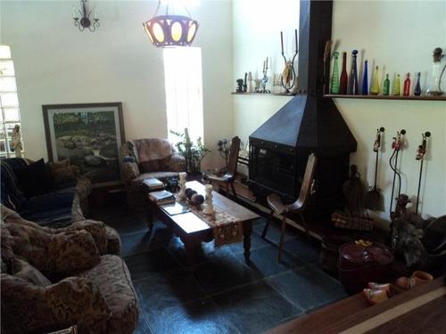 casa residencial à venda, jardim botânico (sousas), campinas - ca0041. - ca0041v