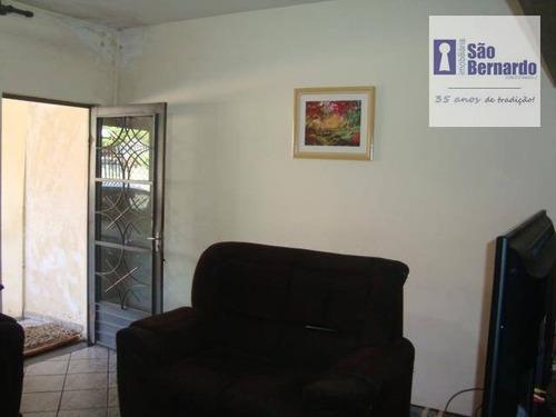 casa residencial à venda, jardim brasil, americana. - ca0455