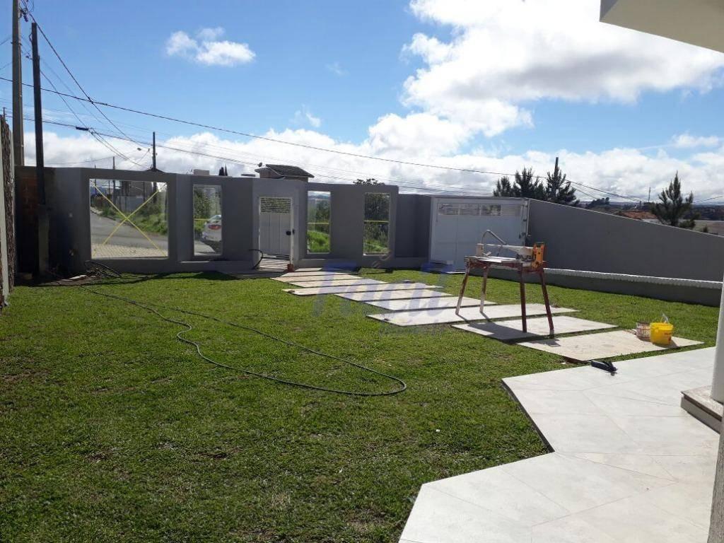 casa residencial à venda, jardim carvalho, ponta grossa. - ca0025