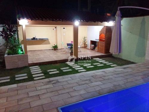 casa residencial à venda, jardim catarina, são gonçalo. - ca0132