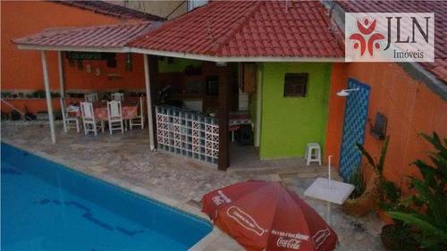 casa residencial à venda, jardim cibratel ii, itanhaém. - ca0064
