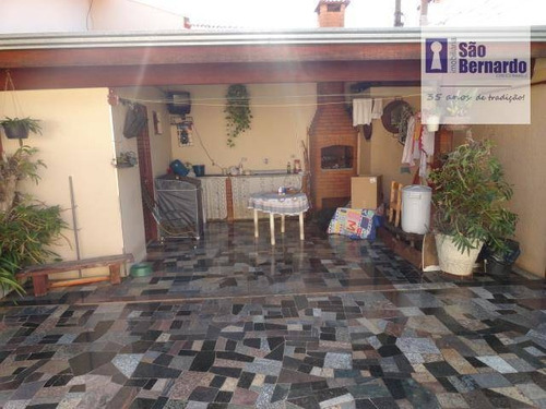 casa residencial à venda, jardim cândido bertini, santa bárbara d'oeste. - ca0237