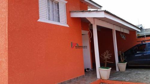 casa residencial à venda, jardim das flores, atibaia. - ca0649