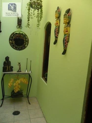 casa  residencial à venda, jardim das maravilhas, santo andré. - ca1002