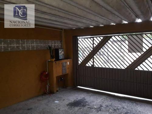 casa residencial à venda, jardim das maravilhas, santo andré. - ca2422