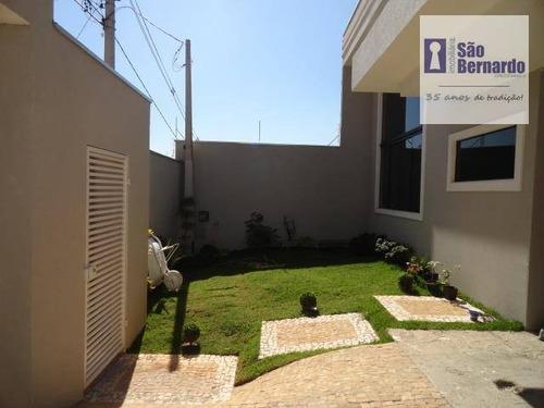 casa residencial à venda, jardim dona judith, americana. - ca0252