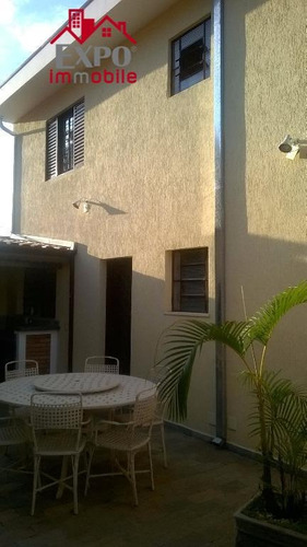 casa  residencial à venda, jardim flamboyant, campinas. - ca0035