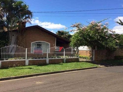 casa residencial à venda, jardim floresta, atibaia - ca1075. - ca1075