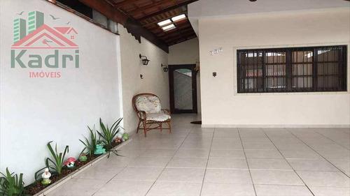 casa residencial à venda, jardim imperador, praia grande. - ca0142