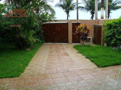 casa residencial à venda, jardim imperador, praia grande. - ca0186