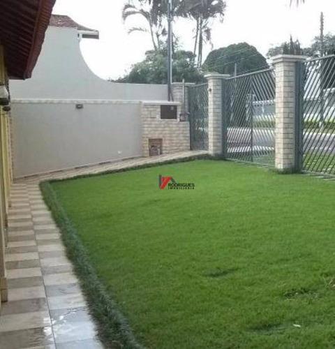 casa residencial à venda, jardim itaperi, atibaia. - ca0941