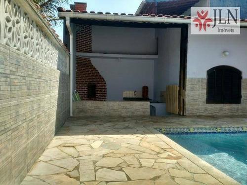 casa  residencial à venda, jardim jamaica, itanhaém. - ca0177