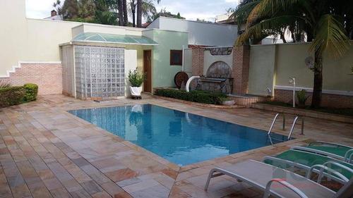 casa residencial à venda, jardim madalena, campinas. - ca2380