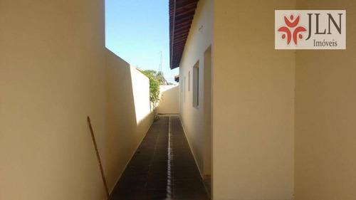 casa residencial à venda, jardim magalhães, itanhaém. - ca0073