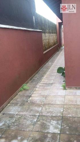 casa  residencial à venda, jardim magalhães, itanhaém. - ca0108