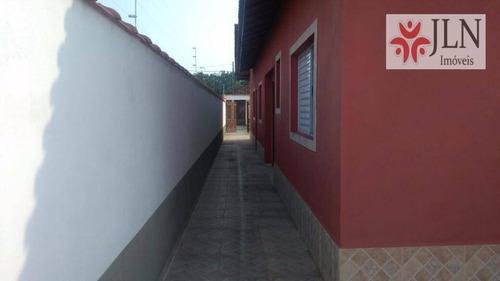 casa residencial à venda, jardim magalhães, itanhaém. - ca0276