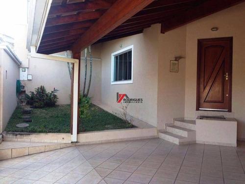 casa residencial à venda, jardim maristela, atibaia. - ca1043