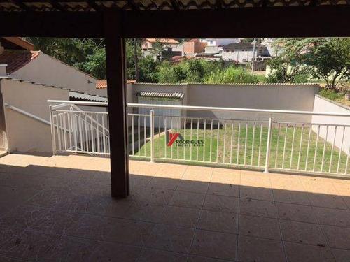 casa residencial à venda, jardim maristela, atibaia. - ca1311