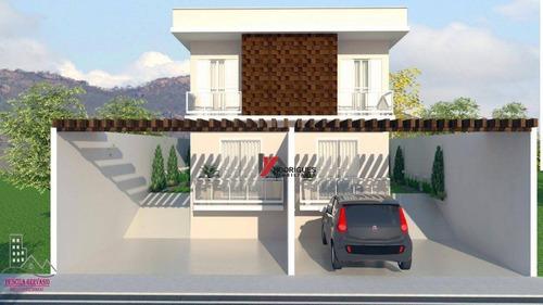 casa residencial à venda, jardim maristela, atibaia. - ca1565