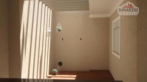 casa residencial à venda, jardim monte das oliveiras, nova odessa. - ca0901