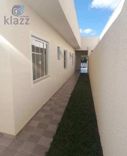 casa residencial à venda, jardim monte libano, são josé dos pinhais. - ca0116