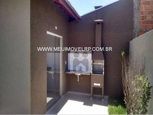 casa residencial à venda, jardim ângelo jurca, ribeirão preto - ca0157. - ca0157