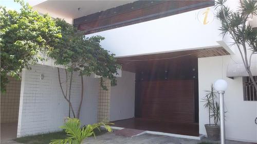 casa residencial à venda, jardim oceania, joão pessoa. - ca1052