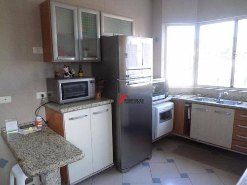 casa residencial à venda, jardim pacaembu, atibaia. - ca1264