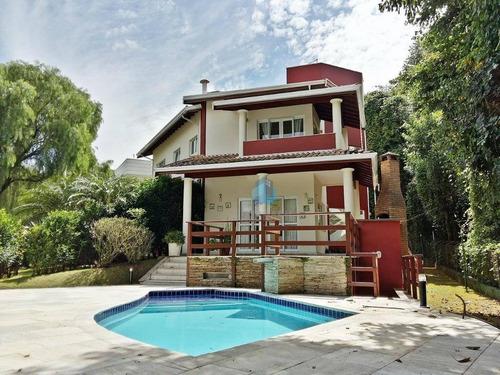 casa residencial à venda, jardim paiquerê, valinhos. - ca0640