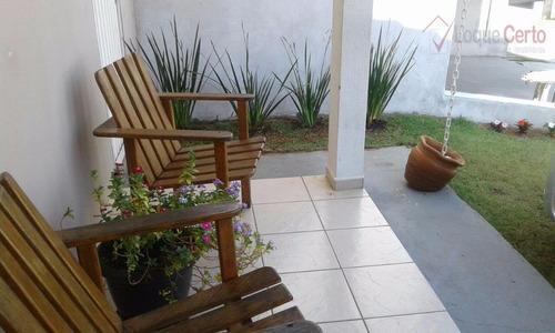 casa residencial à venda, jardim panorama, indaiatuba. - ca0123