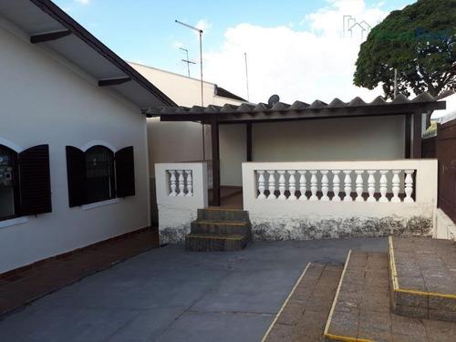 casa residencial à venda, jardim paraíso, valinhos. - ca1223