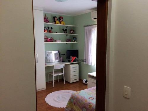 casa residencial à venda, jardim paulista, atibaia. - ca1226