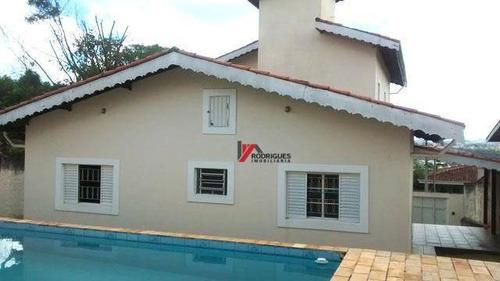 casa residencial à venda, jardim paulista, atibaia. - ca1394