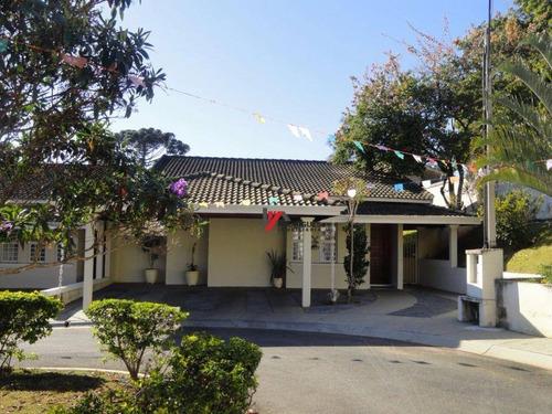 casa residencial à venda, jardim paulista, atibaia. - ca1427